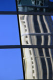 αρχιτεκτονική αντανάκλα&si Στοκ φωτογραφία με δικαίωμα ελεύθερης χρήσης