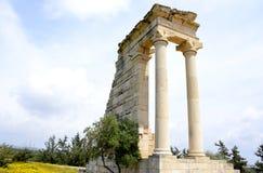 Αρχιτεκτονική από το άδυτο Apollon Hylates Στοκ Εικόνα