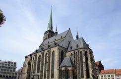 Αρχιτεκτονική από Plzen Στοκ φωτογραφία με δικαίωμα ελεύθερης χρήσης