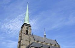Αρχιτεκτονική από Plzen Στοκ εικόνα με δικαίωμα ελεύθερης χρήσης