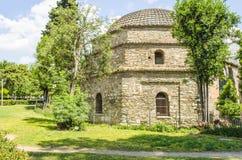 Αρχιτεκτονική αρχαία στην πόλη Θεσσαλονίκης, Ελλάδα Στοκ φωτογραφία με δικαίωμα ελεύθερης χρήσης