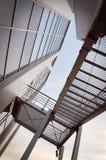Αρχιτεκτονική αφαίρεση με τα σκαλοπάτια Στοκ Φωτογραφίες