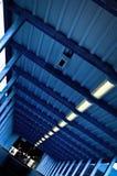 Αρχιτεκτονική αφηρημένη κλεψύδρα λεπτομέρειας εικόνων που διαμορφώνεται Στοκ Εικόνες