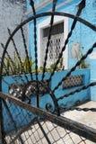 Αρχιτεκτονική αφηρημένη Πόλη του Μεξικού Μέριντα σπιτιών πορτών Στοκ Φωτογραφία