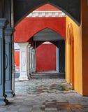 αρχιτεκτονική αψίδων Στοκ εικόνα με δικαίωμα ελεύθερης χρήσης