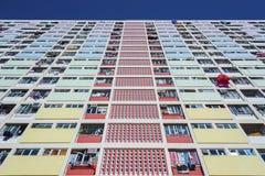 αρχιτεκτονική Βαρκελώνη που χτίζει το σύγχρονο κατοικημένο ύφος της Ισπανίας Στοκ φωτογραφίες με δικαίωμα ελεύθερης χρήσης