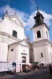 αρχιτεκτονική Βαρσοβία Στοκ Εικόνα
