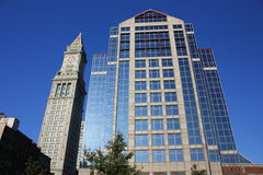 αρχιτεκτονική Βοστώνη Στοκ φωτογραφία με δικαίωμα ελεύθερης χρήσης