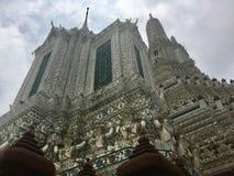 αρχιτεκτονική Βουδιστικός ναός της Dawn Ταϊλάνδη Στοκ φωτογραφία με δικαίωμα ελεύθερης χρήσης
