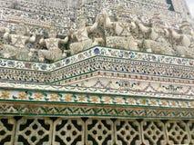 αρχιτεκτονική Βουδιστικό Trmple Μπανγκόκ Στοκ Φωτογραφίες