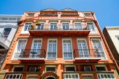 Αρχιτεκτονική γαλλικών συνοικιών Στοκ Εικόνες