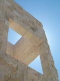 αρχιτεκτονική γεωμετρί&alpha Στοκ Εικόνες