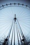 αρχιτεκτονική δομή του Λονδίνου ματιών στοκ φωτογραφία