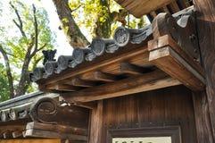 Αρχιτεκτονική λεπτομέρειας της Ιαπωνίας Οζάκα (1) Στοκ Φωτογραφία