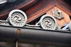 Αρχιτεκτονική λεπτομέρειας της Ιαπωνίας Οζάκα (6) Στοκ εικόνα με δικαίωμα ελεύθερης χρήσης