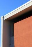 Αρχιτεκτονική λεπτομέρεια ενός σύγχρονου κτηρίου Στοκ φωτογραφία με δικαίωμα ελεύθερης χρήσης