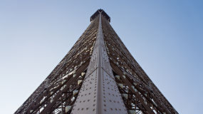 Αρχιτεκτονική λεπτομέρεια που πυροβολείται του πύργου του Άιφελ στο Παρίσι, Γαλλία Στοκ Φωτογραφίες