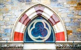 Αρχιτεκτονική λεπτομέρεια στην εκκλησία τριάδας στη Βοστώνη Στοκ εικόνα με δικαίωμα ελεύθερης χρήσης