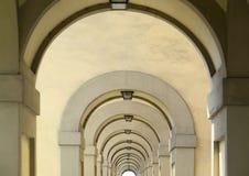 Αρχιτεκτονική λεπτομέρεια στη Φλωρεντία Στοκ Εικόνα