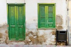 Αρχιτεκτονική λεπτομέρεια στο Λα Gomera του San Sebastian de Στοκ Εικόνες