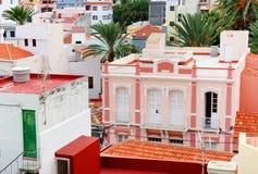 Αρχιτεκτονική λεπτομέρεια στο Λα Gomera του San Sebastian de Στοκ φωτογραφία με δικαίωμα ελεύθερης χρήσης