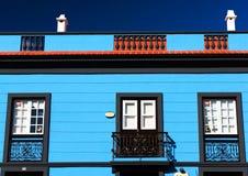Αρχιτεκτονική λεπτομέρεια στο Λα Laguna SAN Cristobal de Στοκ Φωτογραφίες
