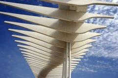 Αρχιτεκτονική λεπτομέρεια της Μάλαγας Spian Στοκ φωτογραφία με δικαίωμα ελεύθερης χρήσης