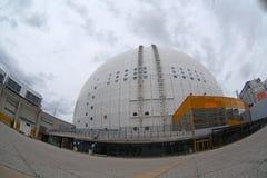 Αρχιτεκτονική λεπτομέρεια της Ericsson Glob στοκ εικόνα με δικαίωμα ελεύθερης χρήσης