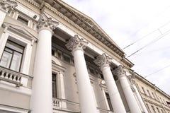 Αρχιτεκτονική λεπτομέρεια του ιστορικού σπιτιού Στοκ φωτογραφία με δικαίωμα ελεύθερης χρήσης