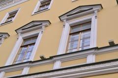 Αρχιτεκτονική λεπτομέρεια του ιστορικού σπιτιού Στοκ Φωτογραφία