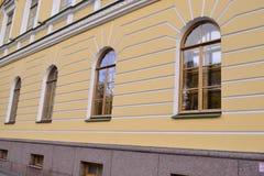 Αρχιτεκτονική λεπτομέρεια του ιστορικού σπιτιού Στοκ εικόνες με δικαίωμα ελεύθερης χρήσης