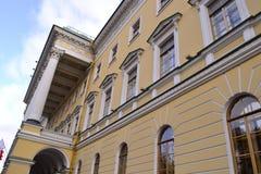 Αρχιτεκτονική λεπτομέρεια του ιστορικού σπιτιού Στοκ Εικόνες