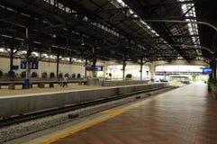Αρχιτεκτονική λεπτομέρεια του σιδηροδρομικού σταθμού της Κουάλα Λουμπούρ Στοκ φωτογραφία με δικαίωμα ελεύθερης χρήσης