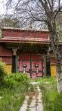 αρχιτεκτονική Θιβέτ Στοκ Φωτογραφίες
