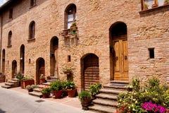 αρχιτεκτονική ιστορικό tuscan Στοκ Εικόνα