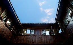 αρχιτεκτονική Κίνα κλασ&sig Στοκ Εικόνα