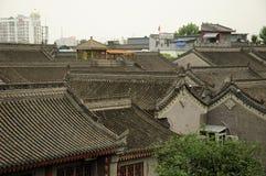 Αρχιτεκτονική Κίνα πόλεων Xian Στοκ φωτογραφία με δικαίωμα ελεύθερης χρήσης