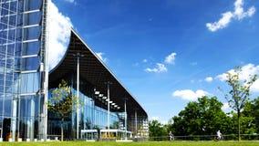Αρχιτεκτονική 1 κτιρίου γραφείων απόθεμα βίντεο