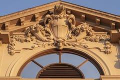 Αρχιτεκτονική λεπτομέρεια σε Citylife, Μιλάνο στοκ φωτογραφία με δικαίωμα ελεύθερης χρήσης