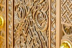 Αρχιτεκτονική λεπτομέρεια σχεδίου του Muscat μεγάλου μουσουλμανικού τεμένους - 1 Στοκ εικόνες με δικαίωμα ελεύθερης χρήσης