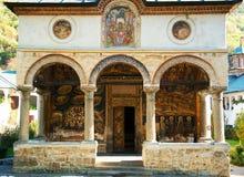 Αρχιτεκτονική λεπτομέρεια του μοναστηριού Cozia Στοκ Εικόνες