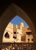 Αρχιτεκτονική λεπτομέρεια Arabesque που εμφανίζει αψίδες Στοκ εικόνα με δικαίωμα ελεύθερης χρήσης