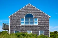 Αρχιτεκτονική Μασαχουσέτη ΗΠΑ σπιτιών βακαλάων ακρωτηρίων Στοκ Φωτογραφία