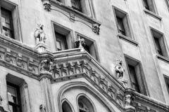 αρχιτεκτονική Νέα Υόρκη Στοκ φωτογραφίες με δικαίωμα ελεύθερης χρήσης