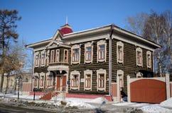 αρχιτεκτονική ξύλινη Στοκ φωτογραφία με δικαίωμα ελεύθερης χρήσης