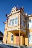 αρχιτεκτονική ξύλινη Στοκ Εικόνα