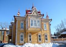 αρχιτεκτονική ξύλινη Στοκ φωτογραφίες με δικαίωμα ελεύθερης χρήσης