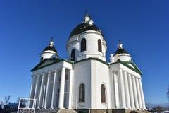 Αρχιτεκτονική οικοδόμηση του καθεδρικού ναού ναών Στοκ Εικόνα