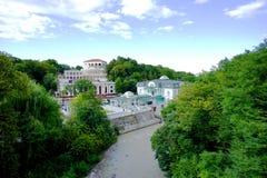 Αρχιτεκτονική πάρκων Στοκ φωτογραφία με δικαίωμα ελεύθερης χρήσης