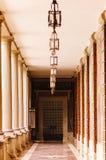 αρχιτεκτονική πίσω από την κλασσική όψη μαξιλαριών λεπτομέρειας Στοκ φωτογραφία με δικαίωμα ελεύθερης χρήσης